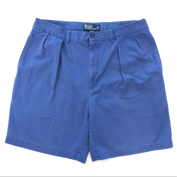 Polo Ralph Lauren Tyler Pleated Chino Short Sz 36